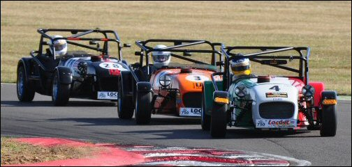 Scott Mitel, Alastair Garratt, Dave Black in Procomp LA Locost Race Cars
