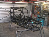 Procomp LA GOLD kit car chassis with Rollcage