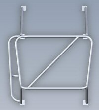 Procomp's certified roll cage Top View